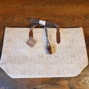Ulta Beautu Rose/Gold Tote Bag  NWT